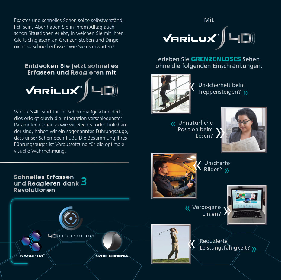 Essilor Varilux S4D